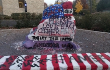 Students' post-election sentiments on Northwestern University rock