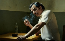 """Actor Wagner Moura plays drug kingpin Pablo Escobar in the Netflix show """"Narcos."""""""