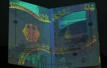 Germany's flashy new passport allows visa-free entry into 170 countries, new state-of-the-art security holograms to prevent counterfeiting, and art work visible only under ultraviolet light.