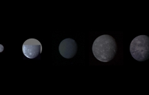 Five moons of Uranus