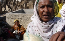 This Pakistani woman lives in extreme poverty; 60 percent of Pakistanis live on less than $2 per person per day.