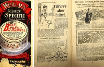 """In 1908, New Zealand Parliament passed the Prevention of Quackery Act to defend against claims such as the one featured in this leaflet: """"bile beans"""" that claimed to cure a vareity of ailments, including indigestion, headaches, pimples and sleeplessness."""