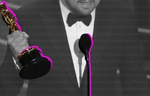Leonardo DiCaprio wins Best Actor at the 2016 Oscars.