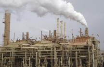 A view of a Baiji oil refinery, 180 km (112 miles) north of Baghdad, February 19, 2008.