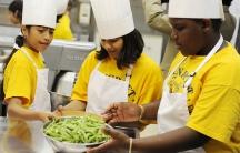 White House kid chefs