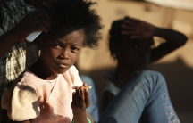 A US shipment of peanuts to Haiti