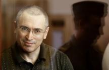 Russian former oil tycoon Mikhail Khodorkovsky