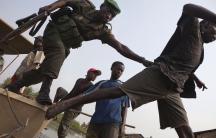 Virunga rangers illegal fishing