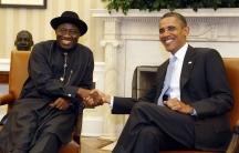 Allegations of corruption swirl around Nigeria's President Goodluck Jonathan.
