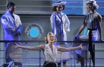 Sutton Foster in 'Anything Goes' during the Tony Awards June 12, 2011.