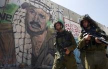 Qalandiya checkpoint outside the West Bank city of Ramallah