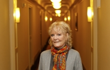 Singer Petula Clark poses in New York, January 19, 2012.