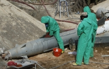 Libya chemical weapons