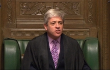Steven Bercow, the Speaker in the House of Commons. The Speaker's role is traditionally neutral in British politics.