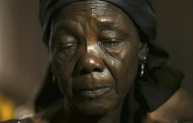Hauwa Nkaki, mother of one of more than 200 girls abducted in the remote village of Chibok.