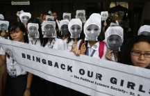 The #bringbackourgirls campaign continues to resonate globally.  Students from an all-girls Catholic school in Manila wore masks last month in solidarity with the kidnapped African school girls.