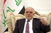 Iraqi Prime Minister-designate Haider al-Abadi, who was nominated by Iraq's president to replace Nouri al-Maliki.