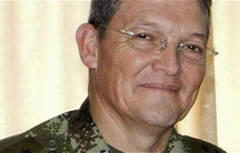 General Ruben Dario Alzate was kidnapped by FARC in a village close to the provincial capital of Quibdó in northwestern Colombia.