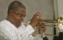 Late South African jazz great Hugh Masekela,