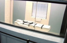 The execution chamber at the Arizona State Prison Complex-Florence is shown.