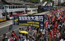 In Hong Kong, pro-democracy protesters take to the streets every year to mark the anniversary of the 1989 Tiananmen crackdown. This type of protest would never be allowed in mainland China.