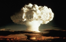 The first test of a hydrogen bomb in 1952