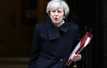 Britain's Prime Minister Theresa May leaves Downing Street in London, Britain March 1, 2017.