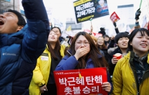 Park impeached ousted south korea