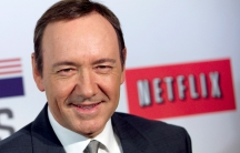 "Actor Kevin Spacey at the premiere of Netflix's television series ""House of Cards"" at Alice Tully Hall in the Lincoln Center"
