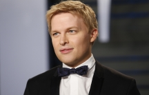 Closeup of Ronan Farrow
