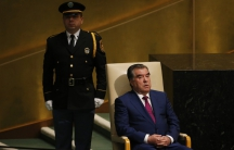 President Emomali Rahmon of Tajikistan