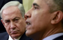 U.S. President Barack Obama meets with Israeli Prime Minister Benjamin Netanyahu in the Oval office for the first time since the Israeli leader lost his battle against the Iran nuclear deal.