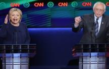 Clinton Sanders debate edit