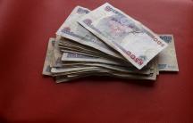 Nigerian naira notes