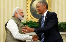 President Obama welcomes Indian PM Modi to the White House