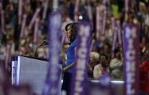 Michelle Obama DNC lead