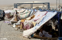 Displaced person camp in Iraq