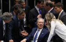 Senate Brasilia impeach Dilma