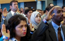 A Naturalization Ceremony in Seattle, Washington