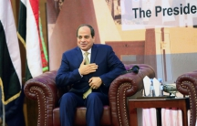 Egypt's President Abdul Fattah al-Sisi in Khartoum, Sudan, on Oct. 10, 2016.
