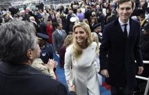 Ivanka Trump Jared Kushner inauguration