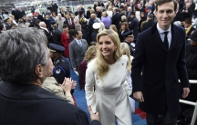 Ivanka Trump Jared Kushner inauguration