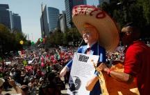 Mexico Trump protests