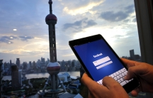 US social media companies Facebook and Twitter are blocked in China, and looking for a way to break into the fast growing market.