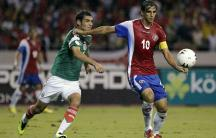 Mexico v Costa Rica World Cup qualifying soccer game