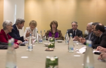 Meeting between Iran and world powers in Geneva