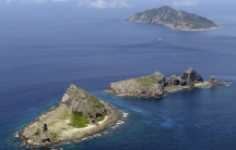 Some of the disputed islands - known as Senkaku in Japan and Diaoyu in China - in the East China Sea.