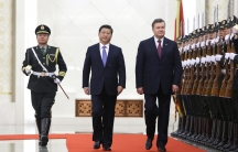 China's President Xi Jinping hosted his Ukrainian counterpart Viktor Yanukovich at the Great Hall of the People in Beijing, back in December 2013.
