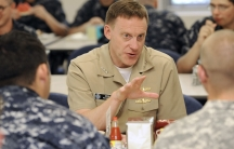 Navy Vice Admiral Michael Rogers