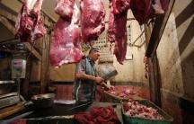 Mumbai meat shop beef ban
